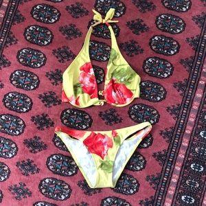 Diva by Rachel Pappo Halter Bikini Set